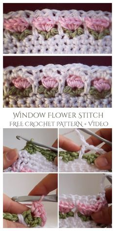 Crochet Edging Patterns, Crochet Motifs, Crochet Amigurumi Free Patterns, Crochet Dishcloths, Free Crochet, Graph Crochet, Crochet Daisy, Manta Crochet, Crochet Cross