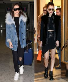 Looks da semana: jeans, jaquetas de couro e mais produções casuais das celebs!