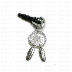 Hey, I found this really awesome Etsy listing at http://www.etsy.com/listing/153460858/cute-dream-catcher-clear-gem-cell-phone
