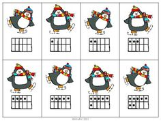 free printable card game for learning numbers 1-10