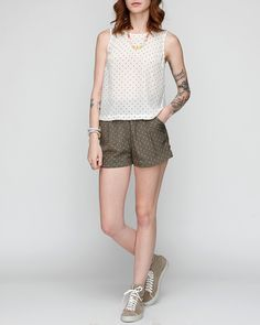 Everything polka dots!  Cute Shorts / Funktional