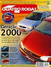 Revista Quatro Rodas Setembro De 1999 Edicao 470 Roda Corsa