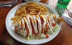 Costa Rican taco: find out more about Costa Rican food here: http://mytanfeet.com/about-cr/costa-rican-food/