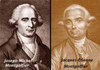 Los hermanos Mongolfier inventaron el primer globo aerostático.