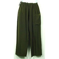 $29.00 awesome Green Silk Kung Fu Pants, Size XL