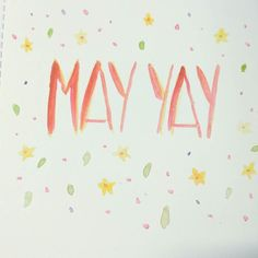 My favourite month of the year has begun hooray! We have birthdays holidays a trip down south planned and everywhere is exploding with life.  Wish it were a bit warmer though brr. (Painted on the 1st May for #The100DayProject )