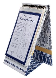 C.R. Gibson QFR3-14118 Art of Cooking Vertical Recipe Keeper Flip Stand, Multicolor C.R. Gibson http://www.amazon.com/dp/B00T8HAYF2/ref=cm_sw_r_pi_dp_Sc9Nwb1ZMTHMQ