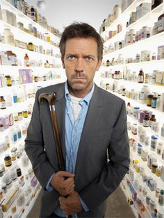 Dr Gregory House....I had to pin at least one of these on this board...