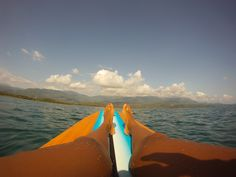 Relaxin' on the SUP