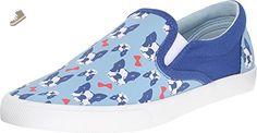 Bucketfeet - Perfect Gentleman - Light Blue/Navy - Women's Fashion Sneakers (US 05) - Bucketfeet sneakers for women (*Amazon Partner-Link)