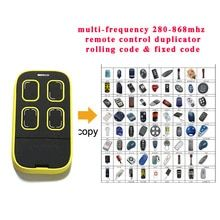 Auto Scan Frequency Universal Remote Control Duplicator Multi Frequency Copy 280 868mhz Chi Garage Door Opener Remote Remote Control Garage Door Remote Control