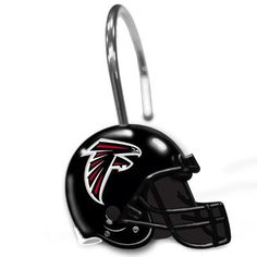 Northwest Co. NFL Helmet Shower Curtain Hooks NFL Team: Atlanta Falcons