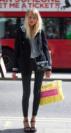 Eastenders Actress Hetti Bywater styling a sailor moon look!