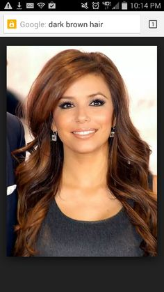 my next hair color for when the baby is born. tired of my blah brown