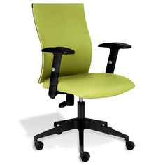 Found it at www.dcgstores.com - ♥ ♥ Caza Office Chair - Adjustable Arms, Green ♥ ♥
