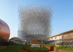 """""""Sometimes you can say more by being quiet"""" says designer of UK's Milan Expo pavilion."""