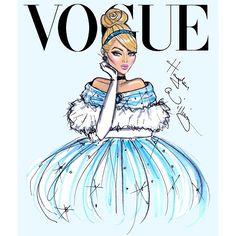Hayden Williams Disney Divas for Vogue by Hayden Williams: Cinderella