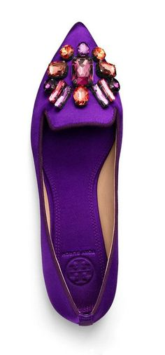 Tory Burch Mayada Smoking Slipper