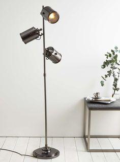 Copper Isaac 3 light Floor Lamp - BHS