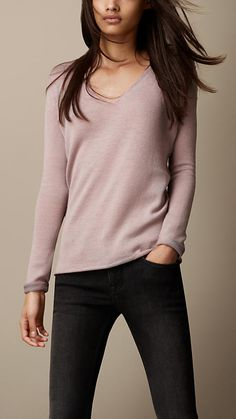Burberry Brit Wool Cashmere Sweater
