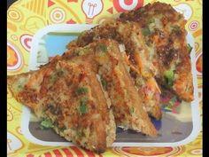 Suji/Semolina Sandwich: Double layered - A Rare Recipe Healthy Sandwich Recipes, Healthy Sandwiches, Easy Healthy Recipes, Vegetarian Recipes, Snack Recipes, Cooking Recipes, Sandwich Ingredients, Snacks Ideas, Corn Recipes
