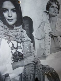 $5, 21 Vintage 1960s Hairpin Lace Crochet Patterns by tikiroommerch