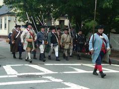 Main Street march on Bunker Hill Day