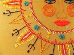Image result for hippie sun art
