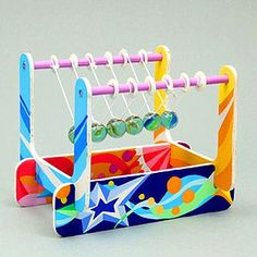 Make Your Own Newtons Cradle Kit (Image Two) @ xUmp.com