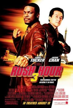 Watch Rush Hour 3 full hd online Directed by Brett Ratner. With Jackie Chan, Chris Tucker, Max von Sydow, Hiroyuki Sanada. After an attempted assassination on Ambassador Han, Lee and Carter h Rush Hour 3, Max Von Sydow, Chris Tucker, Tucker Max, Comedy Movies, Hd Movies, Movies Online, Movies And Tv Shows, 3 Online