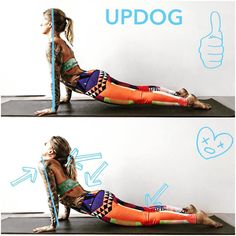 Do's and Dont's of the upward dog