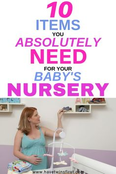 How to organize nursery furniture. A list of nursery must haves. Nursery Organization, Organize Nursery, Nursery Inspiration, Nursery Ideas, Nursery Room, Baby Room, Room Ideas, Pinterest Baby, Pregnancy Tips