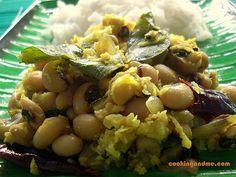 Black Eyed Beans Thoran - Indian Black-Eyed Peas Recipes