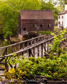 SALE 15% OFF Coupon code: SALE15OFF  Water Wheel Bridge Fine Art Photography by PhotosbyJerryCowart, $37.50  MORE OF MY PHOTOGRAPHS CAN BE SEEN AND PURCHASED ON MY WEBSITE:  jerry-cowart.artistwebsites.com