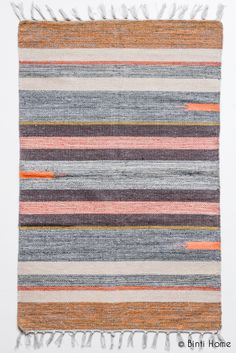 House Doctor Rug Cotton Rug mixed colours 60x90 100% cotton  € 19,95