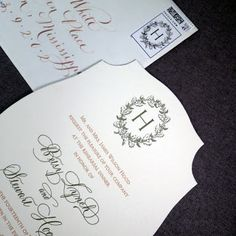 Fresh Ink : Style Sentiment & Stationery in the South: Rehearsal Dinner Invitations