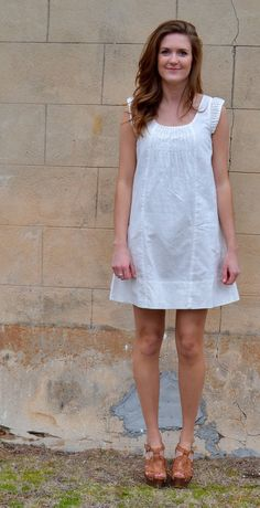 Beautiful Life Dress in White