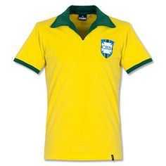 Camiseta Retro de Brasil 1960's Local