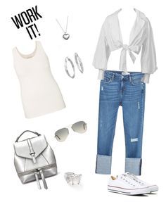 """""""dress up your boyfriend jeans"""" by syddeon on Polyvore featuring Zara, maurices, Converse, Pandora, Blue Nile, Ippolita and Ray-Ban"""