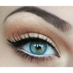 How To Do Winged Eyeliner ❤ liked on Polyvore featuring beauty products, makeup, eye makeup, eyeliner and eyes