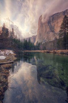 Clearing Storm at El Capitan, Yosemite  By: Vincent James Item #: 9485857