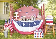 patriotic 4th of July fete!