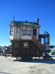The Burrow on Wheels