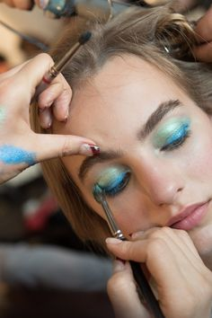 Diane von Furstenberg Spring 2016 Ready-to-Wear Fashion Show Beauty