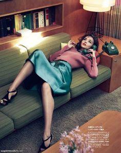 Model: Miranda Kerr   Photographer: Nino Muñoz - 'Miranda on my Mind' for Numéro Tokyo #57, June 2012