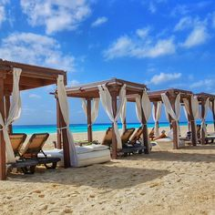 There's always a spot for you on the sand in Cancun. Our oceanfront resort in Mexico offers an adults-only getaway to relax and unwind in the Caribbean sunshine. When you're ready for your beach day there will be a personal cabana ready for you. | Hyatt Zilara Cancun