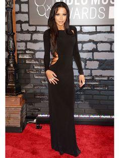 Naya Rivera looking sleek and sexy at the 2013 VMA's.