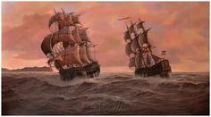 Wieslaw Wilk - Marine paintings