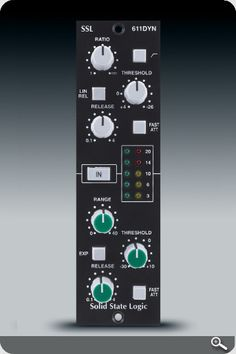 SSL Lunchbox Format E-Series Dynamics Module