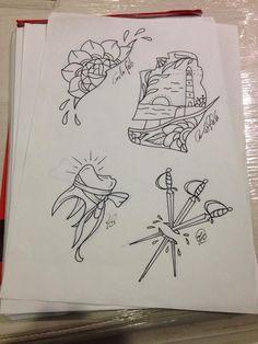 tattoo flash #tattoo idea #old school tattoo #neo traditional tattoo